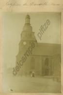 2 Photos Passées De Marville (Meuse). Eglise + Groupe. Vers 1900. - Orte