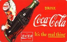 Coca-Cola Telecard Zambia Telecom - Coca-Cola