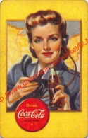 Vintage Coca-Cola Playing Card - Coca-Cola