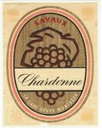 Rare //  Chardonne ,Lavaux, Cave Vevey-Montreux , Vaud // Suisse - Etiquettes