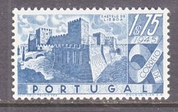 PORTUGAL  667   *  CASTLE - 1910-... Republic
