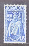 PORTUGAL  674   *    MADONNA - 1910-... Republic