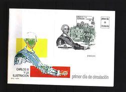 Spain 1988 Michel Block 33 FDC - 1931-Hoy: 2ª República - ... Juan Carlos I