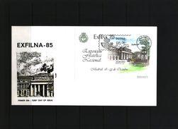 Spain 1985 Michel Block 28 FDC - 1931-Hoy: 2ª República - ... Juan Carlos I