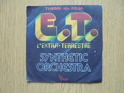Disque Vinyle 45 Tours SYNTHETIC ORCHESTRA Thème Du Film E.T. L'Extra-Terrestre - Filmmusik