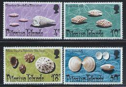 "Pitcairn Islands          ""  Shells ""       Set      SC#137-40    MNH - Timbres"