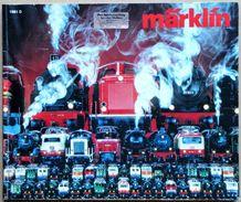 Catalogue Allemand MÄRKLIN 1981 : Trains Et Voitures électriques, Jeux De Construction... - Books And Magazines