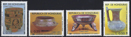 Honduras Scott #C774-777 Prehispanic Discovery Of America 500th - Honduras