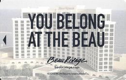 Beau Rivage Casino - Biloxi, MS - Hotel Room Key Card - Hotel Keycards