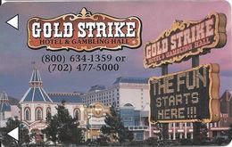 Gold Strike Hotel & Gambling Hall - Jean, NV - Hotel Room Key Card - Hotel Keycards