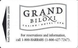 Grand Biloxi Casino - Biloxi, MS - Hotel Room Key Card - Hotel Keycards