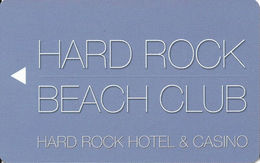 Hard Rock Casino - Las Vegas, NV - Hotel Room Key Card - Hotel Keycards