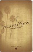 Island View Casino - Gulfport, MS - Hotel Room Key Card - Hotel Keycards