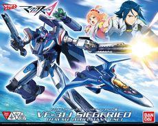Macross Delta  : VF-31J Siegfried ( Hayate Immelmann Use )  1/72 ( Bandai ) - SF & Robots