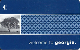 Hampton Inn Georgia Hotel Room Key Card - Hotel Keycards