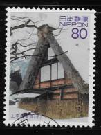 JAPAN, 2002. SCOTT USED # 2822, HOUSE COVERED Of SNOW  SUNAYUMA - 1989-... Empereur Akihito (Ere Heisei)
