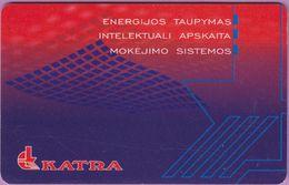 Télécarte Lituanie °° 53-Katra - Energijos Taupymas – 1492 - Lituanie