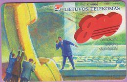 Télécarte Lituanie °° 80 – Nc – Nemokami  Telefonu - 890 - Lituanie