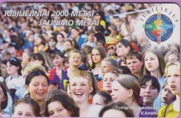 Télécarte Lituanie °° Jubiliejiniai 2000 Metai - 1177 - Lituanie
