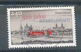 GERMANY Mi.Nr. 3138 900 Jahre Köthen - Used - BRD