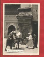 MAROC -  FES - Place Nejjarine - 1939 - Belle Carte Animée - Fez