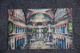 CONSTANTINOPLE : Intérieur De Sainte SOPHIE - Turquie