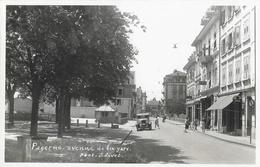 Payerne - Avenue De La Gare, Vieille Voiture - Photo J. Livet - VD Vaud