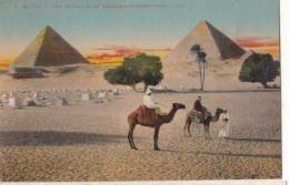 Egypte - La Grande Et La Seconde Pyramide  : Achat Immédiat - Egypte