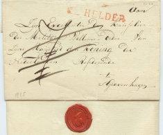 ~1825 HELDER  Bfh Taxkorr. N.S'Gravenhage - Niederlande