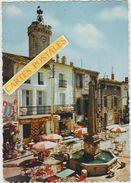 VIAS La Fontaine Et L'hôtel De Ville - Autres Communes