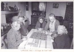 56 - Morbihan -  PRIZIAC -  Village De Coet Huet -  Partie De Cartes -  150 Exemplaires - France