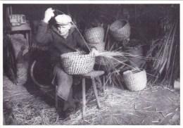 56 - Morbihan -  PRIZIAC -  Le Cleuzio -  Jo Sylvestre Tresse Une Ruche En Paille - Apiculture  - 1986 -  Tirage 150 Ex - France