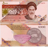 IRAN       5000 Rials       P-152[b]       ND (2013)       UNC  [ Sign. 37 ] - Iran