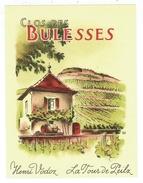 Rare //  Clos Des Bulesses, Henri Vodroz, La Tour De Peilz Vaud // Suisse - Etiquettes