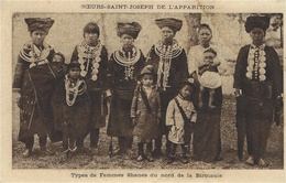 Types De Femmes Shanes Du Nord De La BIRMANIE  - Ed. Hélio Aulard - Cartes Postales