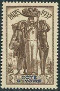 Cote D´ivoire 1937. Michel #156 MNH/Luxe. World Exhibition In 1937, Paris. (Ts48) - 1937 Exposition Internationale De Paris