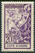 Cote D´ivoire 1937. Michel #153 MVLH/Luxe. World Exhibition In 1937, Paris. (Ts48) - 1937 Exposition Internationale De Paris