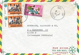 Togo 1972 Lome Education Casava Cake Baking Cover - Togo (1960-...)