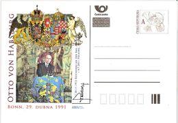 CDV C Czech Republic Otto Von Habsburg 2011 - Familles Royales