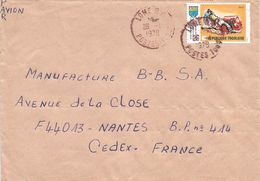 Togo 1978 Lome Tractor Agriculture Cover - Togo (1960-...)