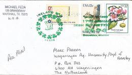 USA 1998 Ireland Festival Postmark Apple Lamb Cover - Verenigde Staten