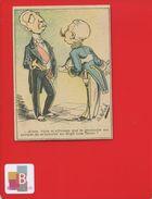 HIGH LIFE TAYLOR Faubourg Montmartre Paris CHROMO Hermet  Illustrateur Moloch DIPLOMATE PROTOCOLE MONOCLE - Trade Cards