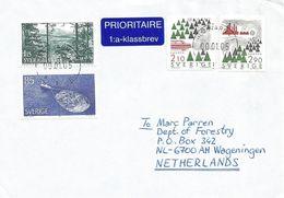 Sweden 2005 Huskvarna Forestry Tree Paper Cover - Zweden