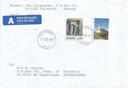 Norway 1998 Tolvsrod Church Religion Book Cover - Brieven En Documenten