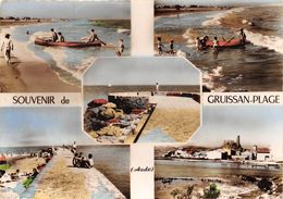 11-GRUISSAN - PLAGE - MULTIVUES - France