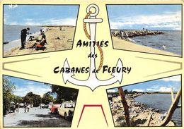 11-FLEURY- LES CABANES  - MULTIVUES - France