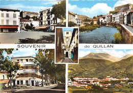 11-QUILLAN- SOUVENIR  - MULTIVUES - France