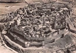 11-CARCASSONNE- VUE AERIENNE  L'ENSEMBLE DE LA CITE ET DES REMPART EN DOUBLE ENCEINTE - Carcassonne