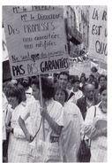 Manifestation Infirmières à Bordeaux / Octobre 1988 / Infirmière / Croix-Rouge - Bordeaux