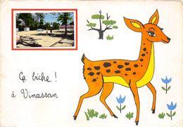 11-VINASSAN- CA BICHE !  A VINASSAN - France